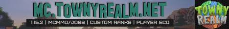 TownyRealm 1.15.2 banner